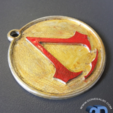 Capture d'écran 2017-05-15 à 09.37.08.png Download STL file Assassins Creed Keychain • 3D printer template, Donegal3D