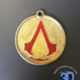 Capture d'écran 2017-05-15 à 09.37.12.png Download STL file Assassins Creed Keychain • 3D printer template, Donegal3D