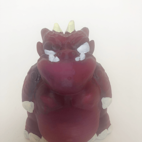3D printer models Purple Butt Monster, Donegal3D