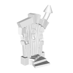 Download STL file Fairy Door with Chimney pot, Donegal3D