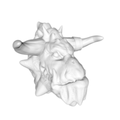 Screen Shot 2017-10-01 at 12.43.15.png Download STL file Dragon head • 3D printing object, Donegal3D