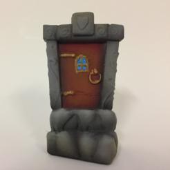 Descargar archivos 3D Puerta de hadas, Donegal3D