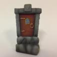 Download STL file Fairy Door • 3D printable model, Donegal3D