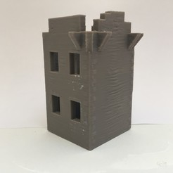 3d print files Crohy Tower, Donegal3D