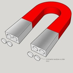 Aimant.jpg Télécharger fichier STL gratuit Aimant en forme de U. • Modèle imprimable en 3D, Jus