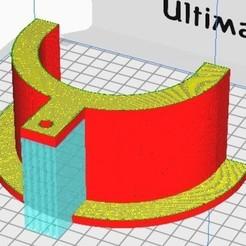 Accroche tuyaux aspirateur 2.jpg Télécharger fichier STL Accroche tuyau aspirateur. • Objet imprimable en 3D, Jus