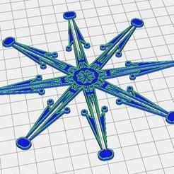Etoile fleche.jpg Télécharger fichier STL Etoile sapin • Objet pour imprimante 3D, Jus