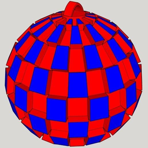 Download 3d printing files fir tree ball cults - Decoration boule de noel en polystyrene ...