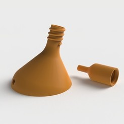 Free 3D model Funnel with tip / Funnel, Ovocom