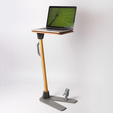 Download free STL file SIDE TABLE • 3D print design, Ovocom