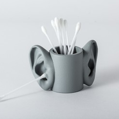 Download free STL file SURREALIST POT • 3D printing object, Ovocom