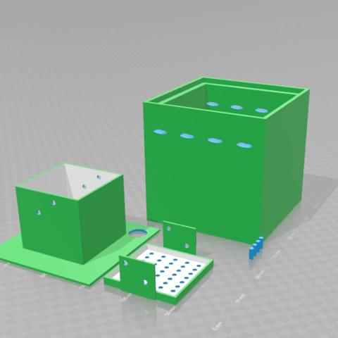 Free 3D model hydroponic pot 150 * 150, diablolx