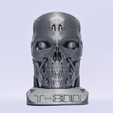 Download free 3D printing designs Terminator + Base and support, Mak3Me