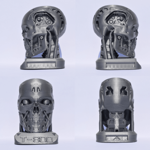 terminator.png Download free STL file Terminator + Base and support • 3D print object, Mak3_Me_Studio