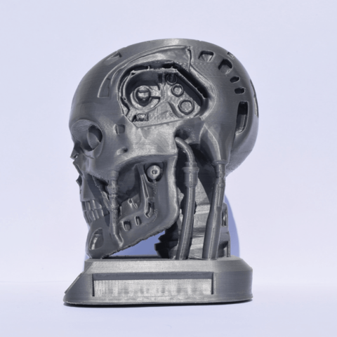 3.png Download free STL file Terminator + Base and support • 3D print object, Mak3_Me_Studio