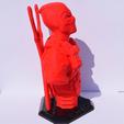 Télécharger modèle 3D gratuit Buste DeadPool, Mak3Me