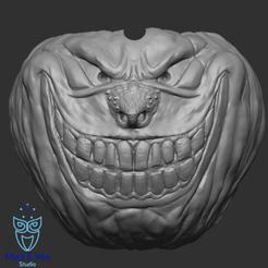 6.png Download STL file Pumpkin ashtray - pumpkin ashtray version 1, ABC, FBX, MTL, OBJ, STL • 3D printer model, Mak3_Me_Studio