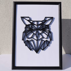 3D print model NICE POLY/VECTOR OWL., Mak3Me