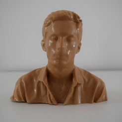 "Impresiones 3D carácter busto: ""lobo"", Bommertm"