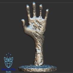 2.png Télécharger fichier STL Main zombie - Hand Undead, ABC, FBX, MTL, OBJ, STL • Modèle pour imprimante 3D, Mak3_Me_Studio
