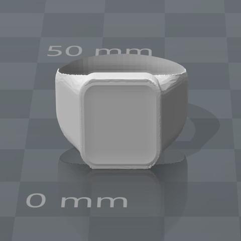 Chevalière.JPG Download OBJ file Neutral ring version 1 • 3D printing model, Mak3_Me_Studio