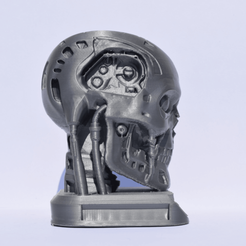 2.png Download free STL file Terminator + Base and support • 3D print object, Mak3_Me_Studio