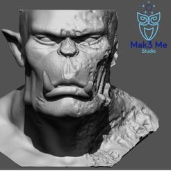 1.png Download STL file Ashtray Orc Zombie - Orc Zombie Ashtray, ABC, FBX, MTL, OBJ, STL • Template to 3D print, Mak3_Me_Studio