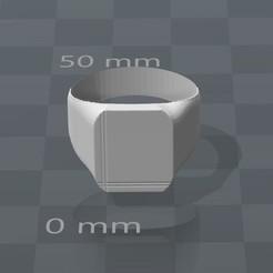 Descargar archivo 3D Anillo neutro versión 2, Mak3Me