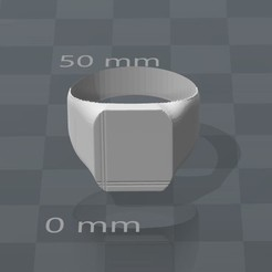 3D printing model Neutral ring version 2, Mak3Me