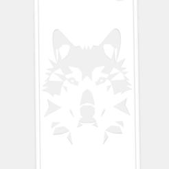 Télécharger objet 3D Iphone 7 Geometric Wolf Case, Mak3Me