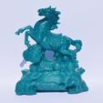 Download free STL file A Horse ornament bring wealth and fortune • 3D printer template, Mak3_Me_Studio