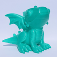 Download free STL file cute dragon • 3D print model, Mak3_Me_Studio