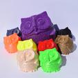 Download free STL file smiling owl • 3D print design, Mak3_Me_Studio