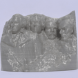 Download free 3D printing models Stylized Mount Rushmore, Mak3Me