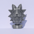 Download free STL file Rick Sanchez Bust • 3D printing design, Mak3_Me_Studio