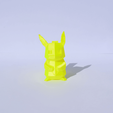 Download free 3D model Low-Poly Pikachu, Mak3Me