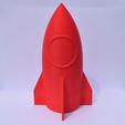 Download free STL file Rocket - Secret Container (no support) • 3D print design, Mak3_Me_Studio
