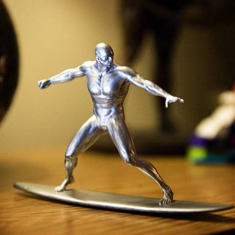 Silver Surfer 3D printer file, Taran3D