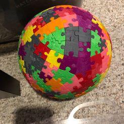 Download 3D printer designs The Moon Puzzle - v2, marklogan