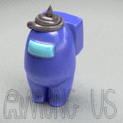 Download STL file AMONG US  caca • 3D printer design, zaider