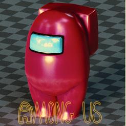 Download STL file AMONG US  • 3D printing model, zaider