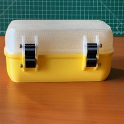 Download free 3D printing files Customizable Rugged Waterproof Box, Microquant