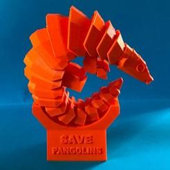 Download free 3D printer model Save pangolins, Microquant