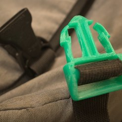 Download free 3D printing templates buckle for messenger bag, unwohlpol