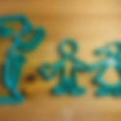 Download free STL file Witch cookie cutter (feat Hänsel & Gretel) • 3D printer template, unwohlpol