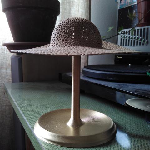 Capture d'écran 2017-05-23 à 18.00.18.png Download free STL file  voronoi hat jewelry stand • 3D printable template, unwohlpol