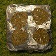 Download free 3D printer templates leaf earrings, unwohlpol