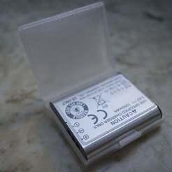 Download free 3D printer designs Ricoh GR III battery box, unwohlpol