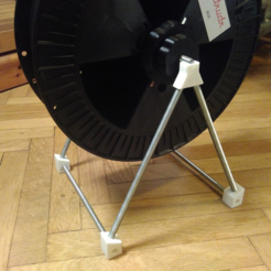 Free STL file Simple filament spool holder, unwohlpol