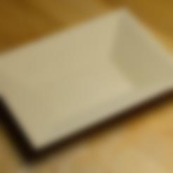 Download free STL file Soy sauce dish • 3D printing template, unwohlpol